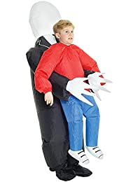 KMCPISM Boys Pick Me Up Inflatable Costume, One Size