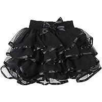 Storeofbaby Little Big Girls Tutu Skirt 4-Layered Skirts (Multi Colors)