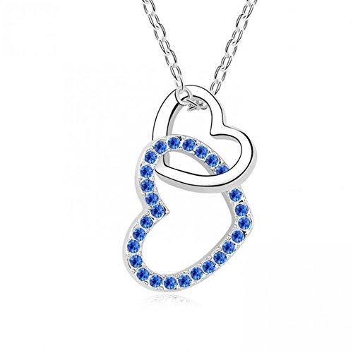 Shining Deals Fashion style Austria style Crystal Necklace -- ECG heartSk-5682