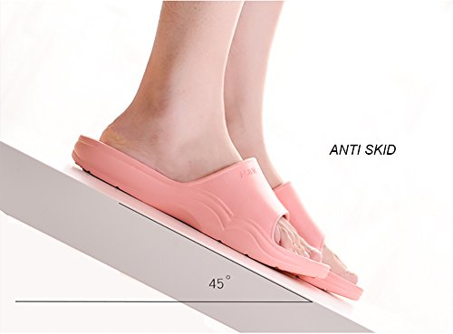 Bathroom Foams Happy Slide Black Slippers slip Women Lily Beach Shower On Sole Think Slip Non Shoes Sandals Men's Mule Pool TrTOUqB