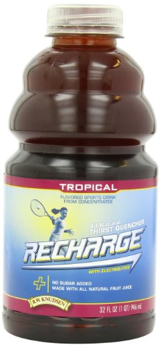 R.W. Knudsen Family Recharge Tropical Flavored Sports Beverage Mix, 32 Ounce