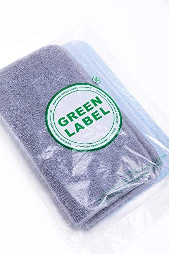 4 Pack for Hoover SteamJet SSN1700 Steam Mop Washable Microfibre Cleaning Pads (compares to AC21, 35601330). Genuine Green Label Product