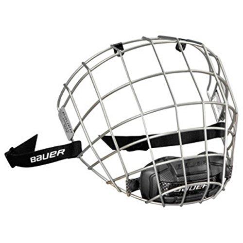 Bauer Facemask PROFILE III Visier, Größe:M;Farbe:Silber