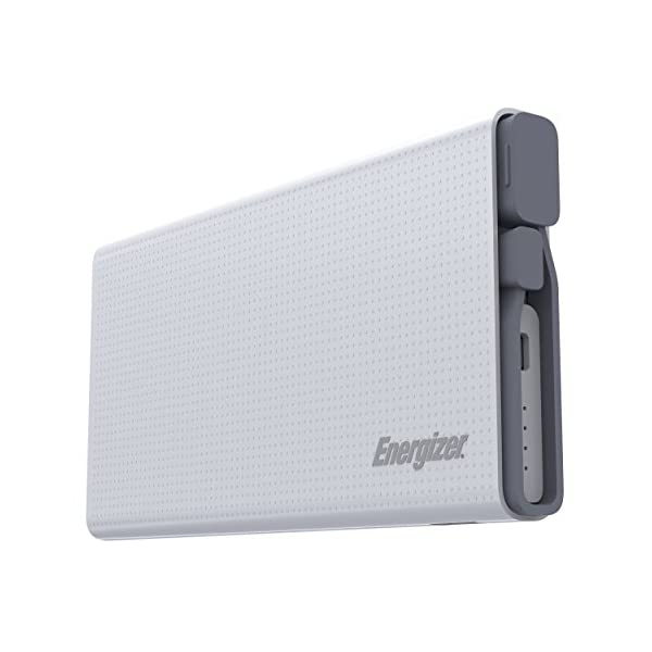 Energizer-UE10004QC-10000mAh-21A-Quick-Charge-30-ABS-Lithium-Polymer-Power-Bank-for-Smartphones-and-Tablets-White