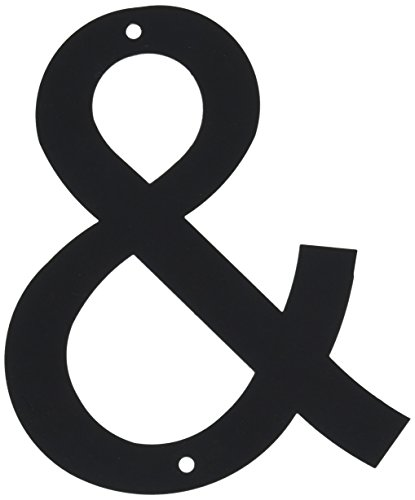 6 Inch Letter Ampersand Small ()