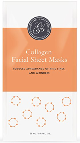 Beste Collagen Gesichtsmasken 6er Set Tuchmasken Anti Aging