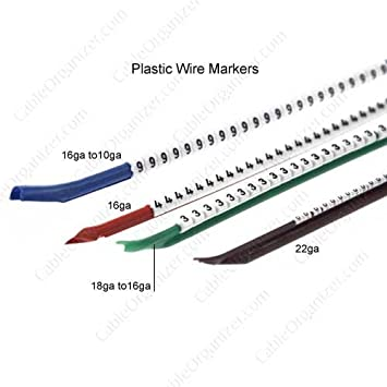 Amazon hellermanntyton plastic wire marker number 2 only hellermanntyton plastic wire marker number 2 only wire keyboard keysfo Image collections