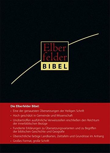 Elberfelder Bibel 2006 - Großausgabe Kunstleder mit Griffregister