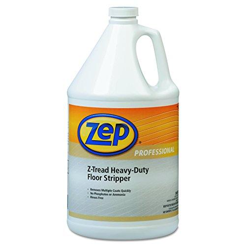 (Zep Professional 1041449 Z-Tread Heavy-Duty Floor Stripper, 1gal Bottle (Case of 4))