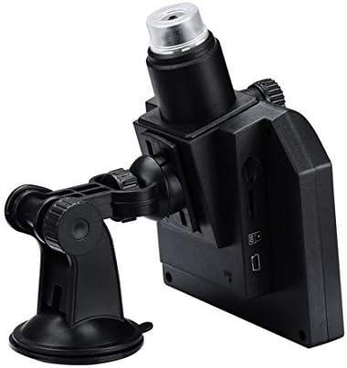 SYFB AYSMG G600 600X 3.6MP 4.3 inch HD LCD-scherm USB opladen draagbare digitale microscoop met LED-licht, Ondersteuning Micro SD-kaart (64 GB Max), US Plug, AC 100-240V