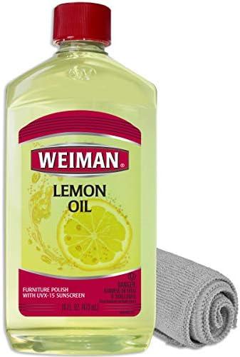 Weiman Lemon Wood Microfiber Cloth product image