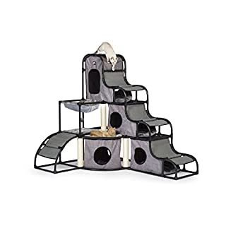 Prevue Pet Products Prevue Pet Products Catville Tower Gray 7240, Gray