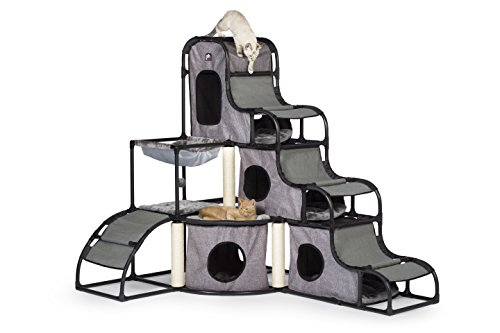 Prevue Pet Products Catville Tower Gray 7240, Gray