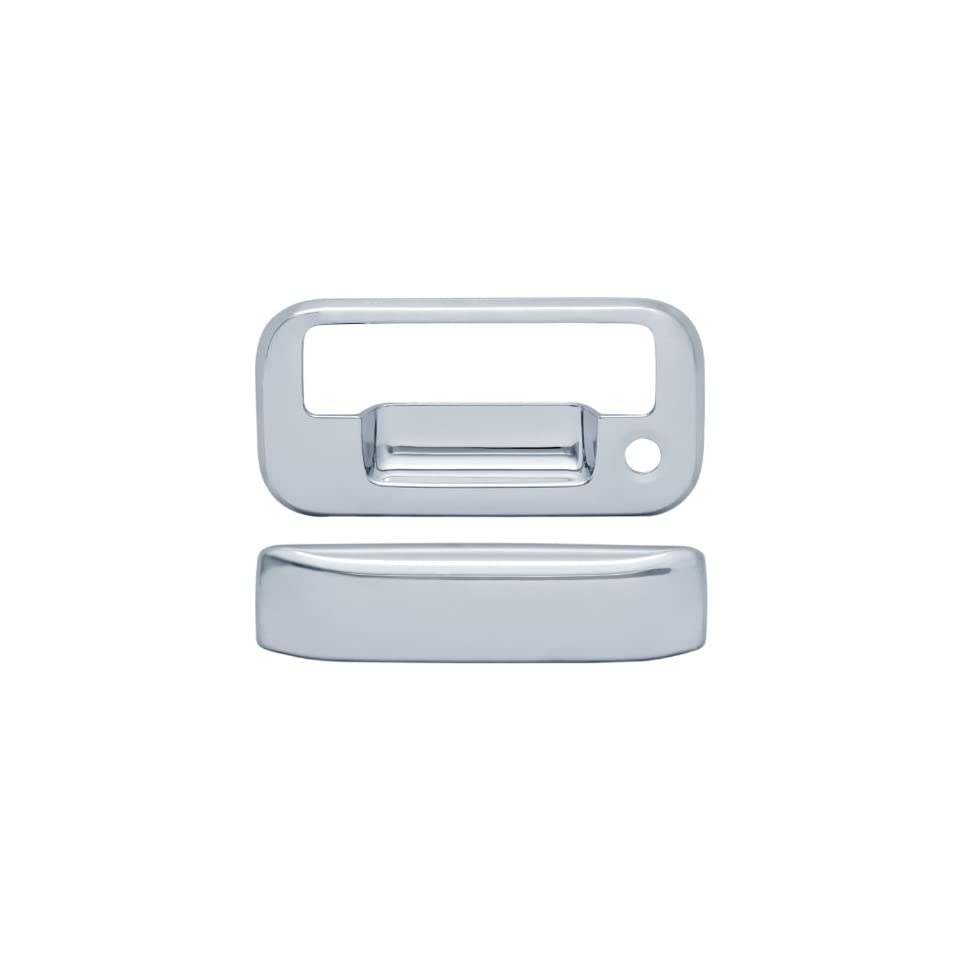 Brite Chrome 11107 Chrome Tailgate Handle Cover   2 Piece Automotive
