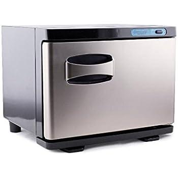 dermalogic towel warmer stainless steel hot towel heater warmer cabinet with uv sterilizer 2 in