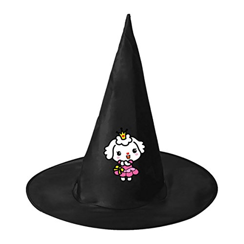 Sheep Princess Dress Conical Cosplay Witch Hat Toy to Halloween Costume Ball for Unisex Kids (Best Homemade Halloween Costume Ideas Adults)