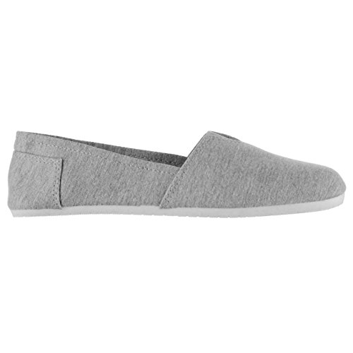 Women's Miss Fiori grey mixed Flats Loafer grey 1wS5qw
