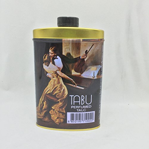 TABU PERFUMED TALC Powder By Dana 100 Gm. (for Face and Body) (Dana Talc)