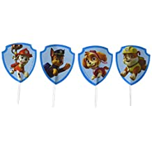 Wilton 2113-7900 Nickelodeon Paw Patrol Fun Pix Cupcake Toppers, Assorted