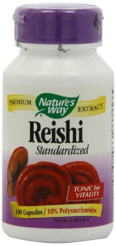 Nature's Way Reishi Capsules, 100-Count (Packaging May Vary)
