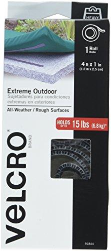 VELCRO Brand Extreme Outdoor Titanium