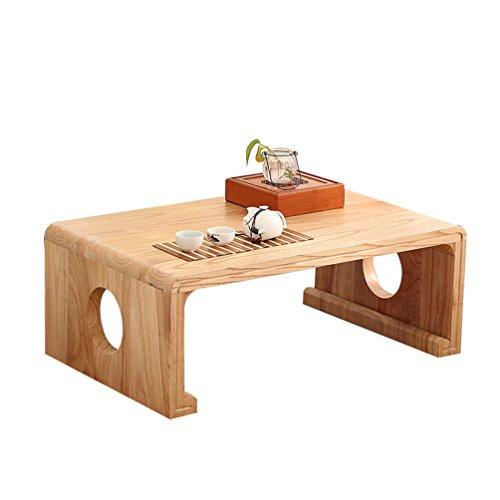 Amazon De Zyh Massivholz Kleiner Tisch Kreativ Japanisch Stil