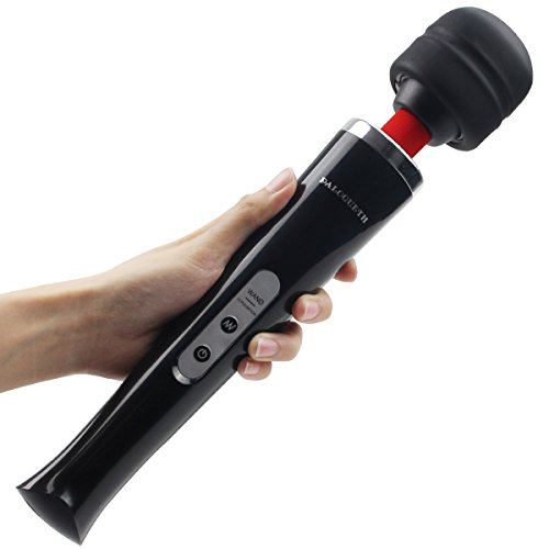 Powerful Massage (Wand Massager Handheld with 10 Powerful Speeds 8 VERY Strong Vibration Patterns, Paloqueth Personal Therapy Body Massager for Muscle Aches and Sports Recovery | Cordless)