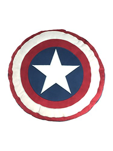 Price comparison product image Marvel Captain America Shield Decorative Pillow