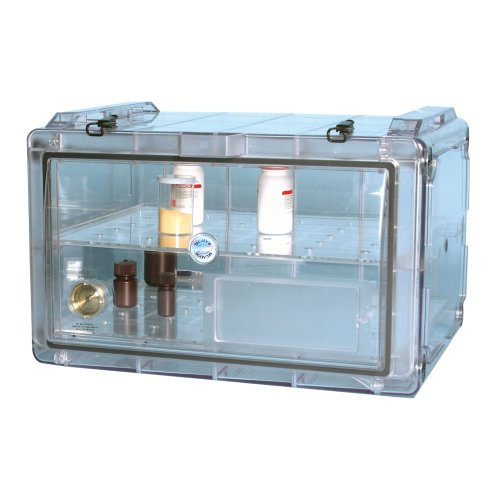 Bel-Art Secador Clear 4.0 Horizontal Auto-Desiccator Cabinet; 230V, 1.9 cu. ft. (F42074-0220)