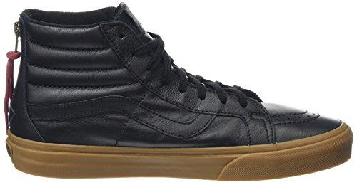 Sk8-salut Unisexe Adulte Sneaker Réémission En Cuir, Noir Vans
