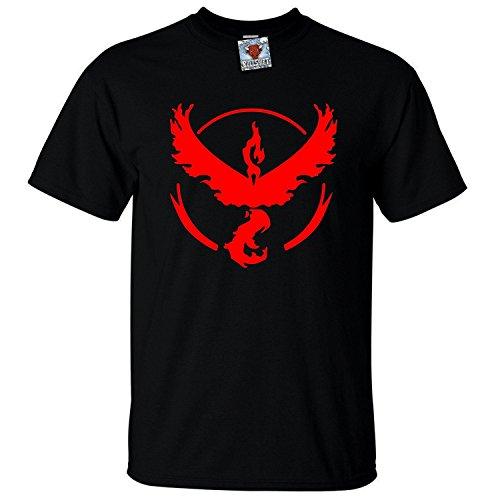 Bullshirt's Men's Team Valor T-Shirt (2XL, Black)