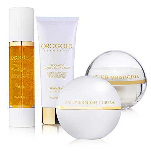 Orogold 24K Gold Gift Hamper| Bounty Of Presents For Family & Friends |Handpicked Gifts For Christmas |Twinkling Lights & Toffee Trucks |Skin Care Gold Flecked Products To Fill Up The Stockings |Salud (Hamper Classic)