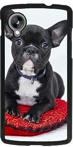 Funda para Google Nexus 5 - Lindo Bulldog by Grab My Art