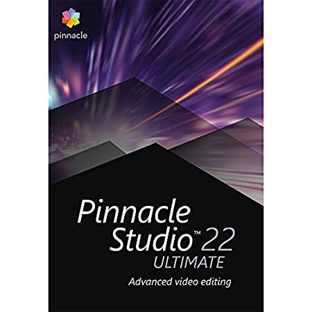 Pinnacle Studio 22 Video Editing Suite Ultimate [PC Download]