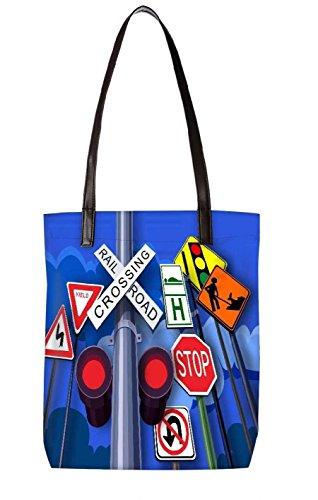 Snoogg Strandtasche, mehrfarbig (mehrfarbig) - LTR-BL-2542-ToteBag