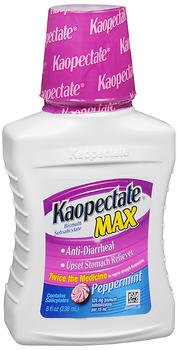 Kaopectate Max Liquid Peppermint - 8 oz, Pack of 6 by Kaopectate
