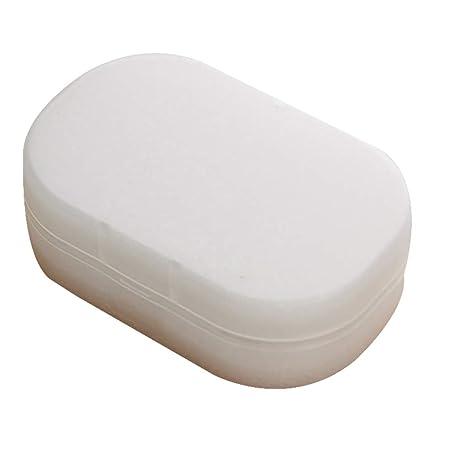 Suministros Para Banos.Lafyho Jabon Translucido Caja Cuadrada Aerobico Esponja