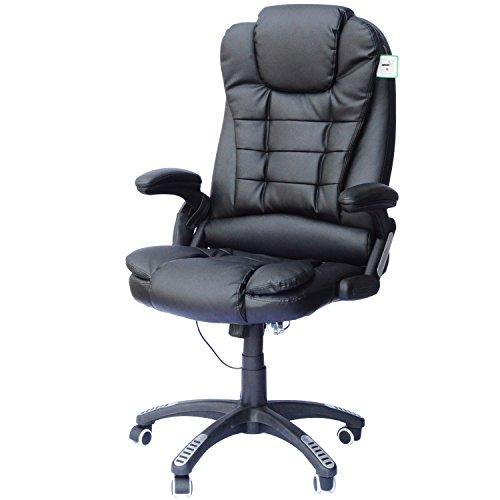 HomCom Heated Massage Office Chair