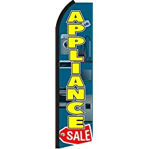 Appliance Sale Swooper Feather Flags Banner Sign