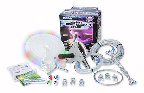 100' Night Riderz Series Zipline Kit