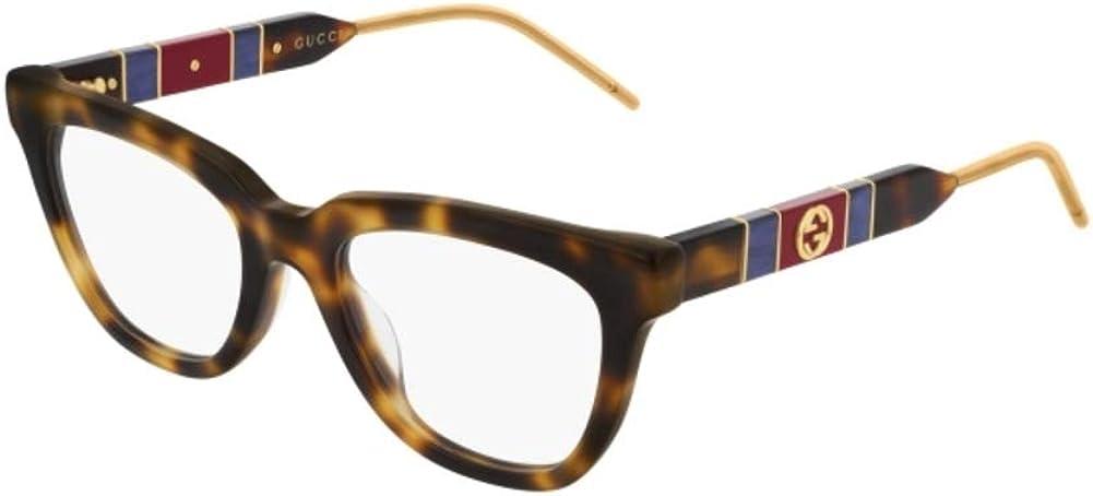 Gucci GG0601O-003 Estuches para anteojos, LA HABANA, 50.0 para Mujer: Amazon.es: Ropa y accesorios