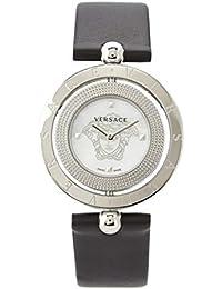 V7901 0014, EON 33.6, SS white MOP dial black strap Women s Watch. Versace 8aaccc4a0fc
