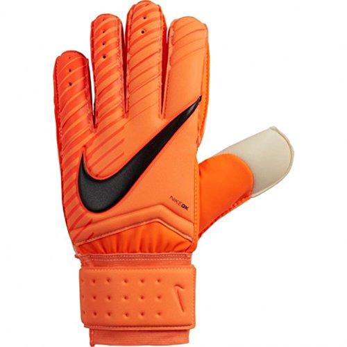 Nike Men's Spyne Pro Goalkeeper Gloves (Orange/White) (8)