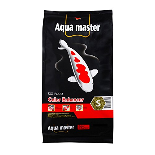Product image of Aqua Master Color Enhancer Fish Food, 22-Pound/Bag, Large