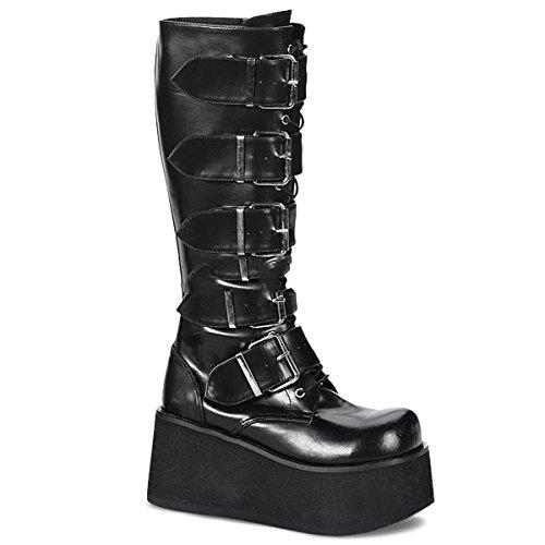 Demonia - Botas para hombre negro Schwarz, color negro, talla 39 (US-M7)