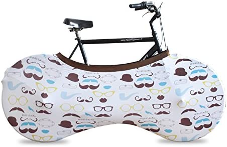 stylisches Zubeh/ör schmutzdichter dehnbarer Stoff mehrere Designs Schutz Reisetasche f/ür BMX Fahrrad Matrix Velo Sock Bike Cover f/ür Innenaufbewahrung und Transport