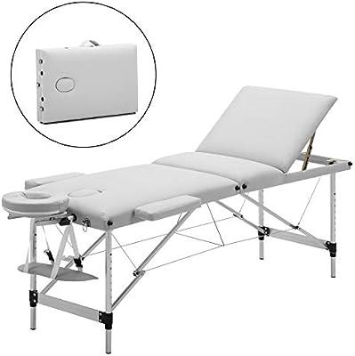 Mesa de Masaje, Camilla masaje de Aluminio Mesa de Masaje Plegable ...