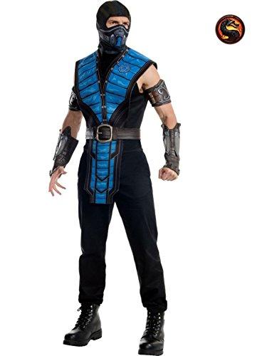 [Sub-Zero Costume - Standard - Chest Size 46] (Sub Zero Costumes)