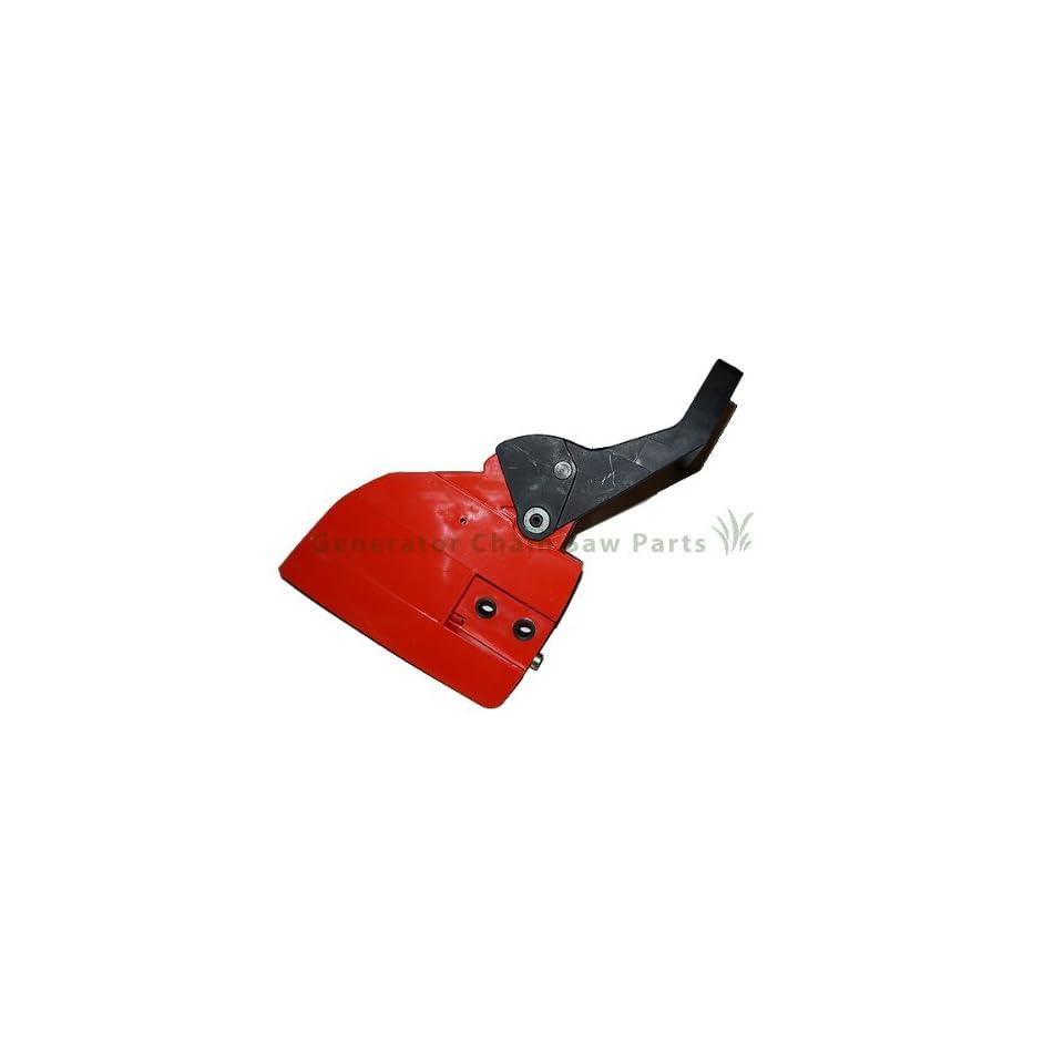 Gas Chainsaw Husqvarna 136 137 141 142 Motor Engine Chain Sprocket Clutch Cover Brake Handle