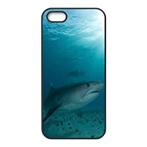 Customized case Of Deep Sea Shark Hard Case for iPhone 5,5S